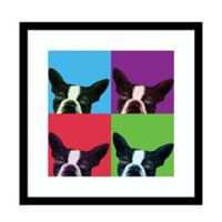 Amanti Art® Jon Bertelli Animals Dogs 17-Inch Square Acrylic Framed Print in Black