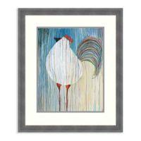 Amanti Art® Kathryn Fortson Animals 22.25-Inch x 26.25-Inch Acrylic Framed Print in Blue