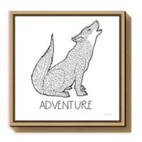 Amanti Art Color the Forest VI Adventure 16-Inch Square Framed Canvas Wall Art