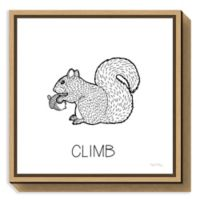 Amanti Art Color the Forest VIII Climb 16-Inch Square Framed Canvas Wall Art