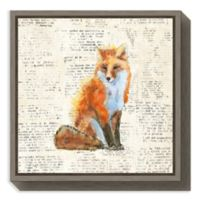 Amanti Art® Emily Adams Animals 16-Inch Square Framed Canvas in Grey