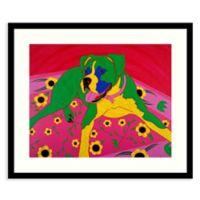 Amanti Art® Angela Bond Animals Dogs 23-Inch x 19.38-Inch Acrylic Framed Print in Black