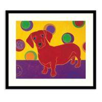 Amanti Art® Angela Bond Animals Dogs 23-Inch x 20-Inch Acrylic Framed Print in Black