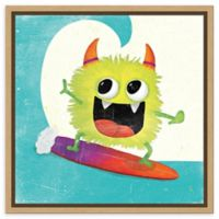 Amanti Art Xtreme Monsters III 16-Inch Square Framed Canvas Wall Art
