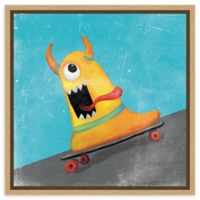 Amanti Art Xtreme Monsters IV 16-Inch Square Framed Canvas Wall Art