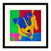 Amanti Art® Angela Bond Animals Dogs 17-Inch Square Acrylic Framed Print in Black