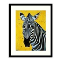 Amanti Art® Angela Bond Animals Zebras 17-Inch x 21-Inch Acrylic Framed Print in Black