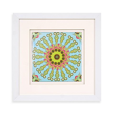 Taj Medallion Sunburst Wall Art in Green