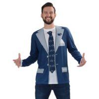 Penn State University Men's Medium Faux Suit Long Sleeve T-Shirt