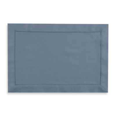 Waterford® Linens Addison 100% Linen Placemat In Blue