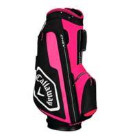 Callaway® Chev Cart Golf Bag in Pink/Black
