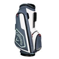 Callaway® Chev Cart Golf Bag in White/Silver