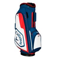 Callaway® Chev Cart Golf Bag in Navy/Red
