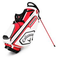 Callaway® Chev Stand Golf Bag in Red/White