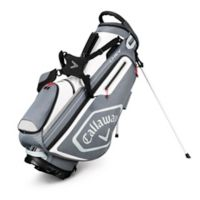 Callaway® Chev Stand Golf Bag in Titanium/Silver
