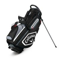 Callaway® Chev Stand Golf Bag in Black/White