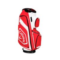 Callaway® Chev Org Cart Golf Bag in Red/White