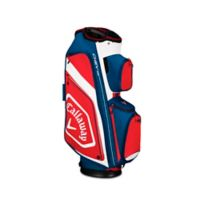 Callaway® Chev Org Cart Golf Bag in Navy/Red