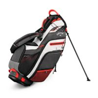 Callaway® Fusion 14 Stand Golf Bag in Titanium/White/Orange
