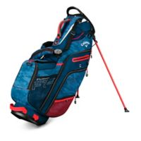 Callaway® Fusion 14 Stand Golf Bag in Navy/Red