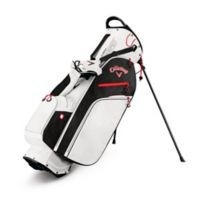 Callaway® Fusion Zero Stand Golf Bag in White/Black/Red