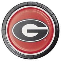 NCAA® 24-Count University of Georgia Disposable Dinner Plates