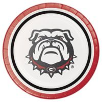 NCAA® 24-Count University of Georgia Disposable Dessert Plates
