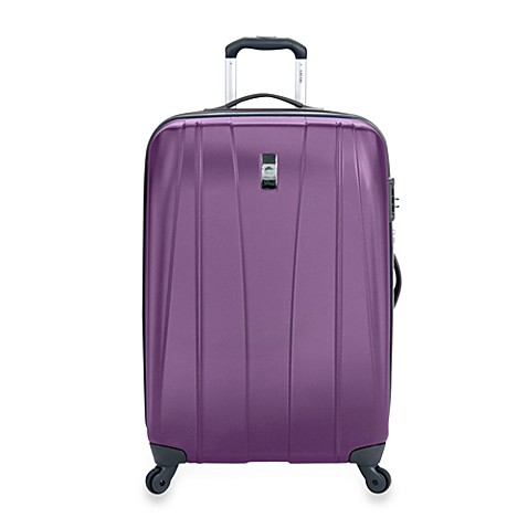 DELSEY Helium Shadow 25-Inch Hardside Spinner in Purple