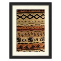 PTM Images 18-Inch x 24-Inch Global Tribal Print Framed Canvas Wall Art