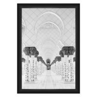 PTM Images 27.5-Inch x 39.5-Inch Indian Temple Framed Wall Art