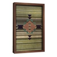 PTM Images Navajo Pattern II 18.5-Inch x 26.5-Inch Framed Wall Art
