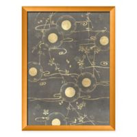 PTM Images Gold Circles 18-Inch x 24-Inch Paper Framed Print in Gold