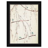 PTM Images Faint Branches 19-Inch x 25-Inch Paper Framed Print in Black