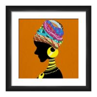 PTM Images Global Turban Woman Framed Wall Art