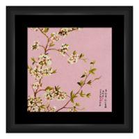 PTM Images Pink Floral Framed Wall Art