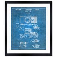 Oliver Gal™ Kuppenbender Camera 1936 Blueprint 26-Inch x 32-Inch Framed Wall Art