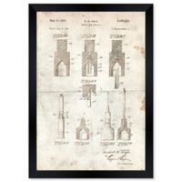 Oliver Gal™ Disposable Syringe II 1951 Blueprint 10-Inch x 12-Inch Framed Wall Art