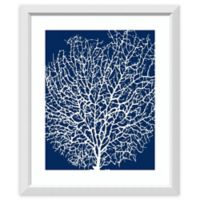 Amanti Art® Sabine Berg Coral Framed Canvas in White