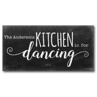 Courtside Market This Kitchen 12-Inch x 24-Inch Canvas Wall Art
