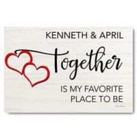 Courtside Market™ Together 12-Inch x 18-Inch Canvas Wall Art