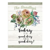 Courtside Market™ Good Day 16-Inch x 20-Inch Canvas Wall Art