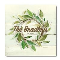 Courtside Market™ Wreath Gallery 16-Inch Square Canvas Wall Art