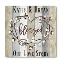 Courtside Market™ Blessed 16-Inch Square Canvas Wall Art