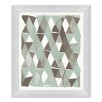 Blue and Grey I 23.5-Inch x 27.5-Inch Framed Wall Art