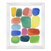 Color Blocks I 18-Inch x 22-Inch Framed Wall Art