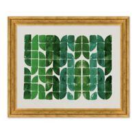 Emerald Pattern 35-Inch x 29-Inch Framed Wall Art