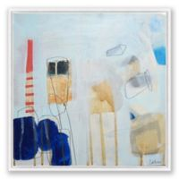 Art on the Brain 15 30-Inch Square Framed Canvas Wall Art