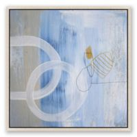 Art on the Brain 8 24-Inch Square Framed Canvas Wall Art