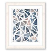 Geometric Abstract 1 17-Inch x 20-Inch Framed Wall Art