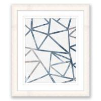 Geometric Abstract 2 17-Inch x 20-Inch Framed Wall Art